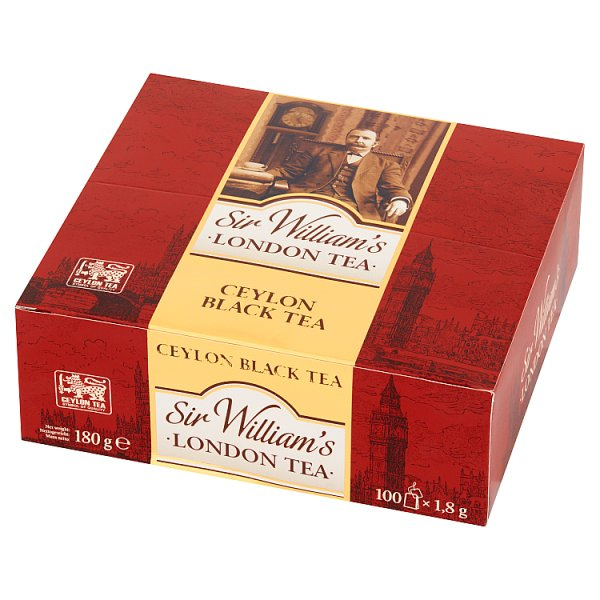Sir William's Ceylon Herbata 180 g (100 x 1,8 g)