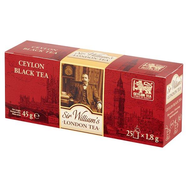 Herbata Sir Williams London tea ceylon black tea 25 szt