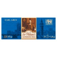 Herbata Sir Williams London tea earl grey tea 25 szt