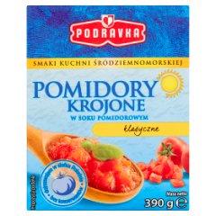 Pomidory krojone Podravka (kartonik)