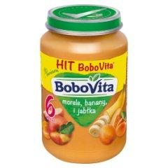 BoboVita Morele banany i jabłka po 6 miesiącu 190 g