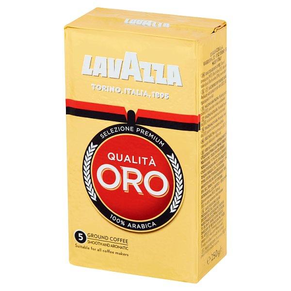 Kawa Lavazza Qualita Oro naturalna mielona