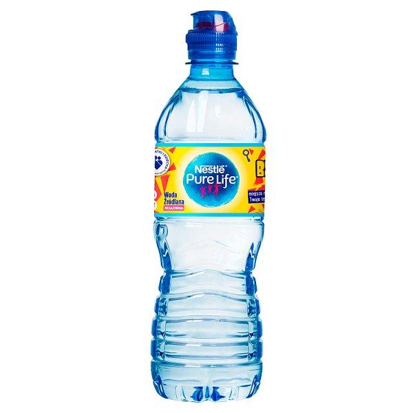 Nestlé Pure Life Bystrzacha woda źródlana niegazowana 0,5 l