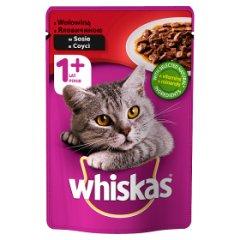 Karma Whiskas (k) z wołowiną w Sosie