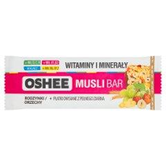 Baton musli Oshee-rodzynki i orzechy