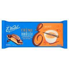 Czekolada Wedel mleczna z nadzieniem Creme Brulee