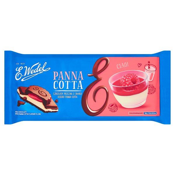 Czekolada Wedel mleczna z nadzieniem Panna Cotta