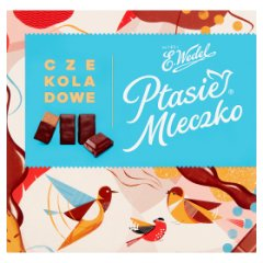 E. Wedel Ptasie Mleczko czekoladowe 380 g
