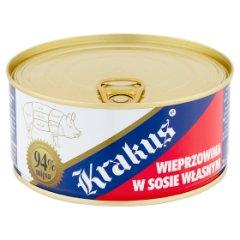 Krakus Konserwa wieprzowina w sosie własnym 300 g