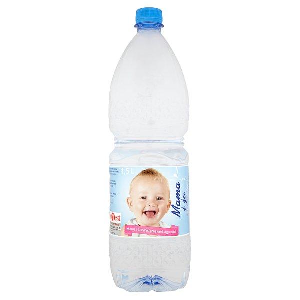 Mama i ja Woda źródlana niegazowana 1,5 l