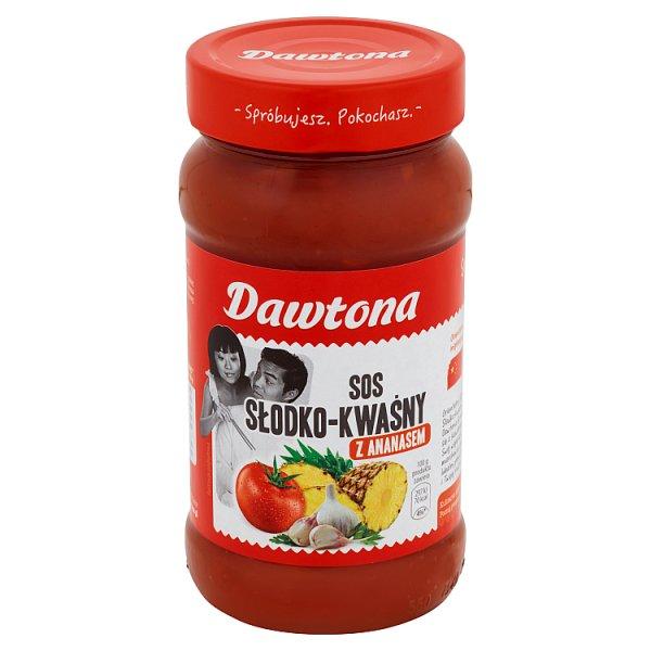 Sos słodko kwaśny z ananasem Dawtona