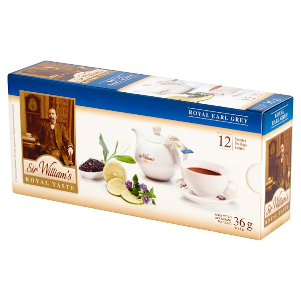 Herbata Sir Williams royal taste earl grey 12 szt