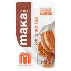 Młyny Stoisław Mąka żytnia typ 720 900 g