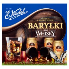 E. Wedel Baryłki o smaku whisky 200 g