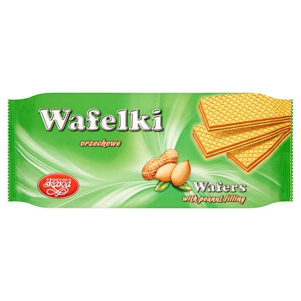 Wadowice Skawa Wafelki orzechowe 180 g