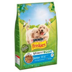 Karma Friskies Junior (ps) z kurczakiem i warzywami