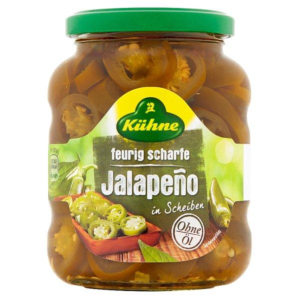 Kühne Papryka jalapeño plastry 370 ml