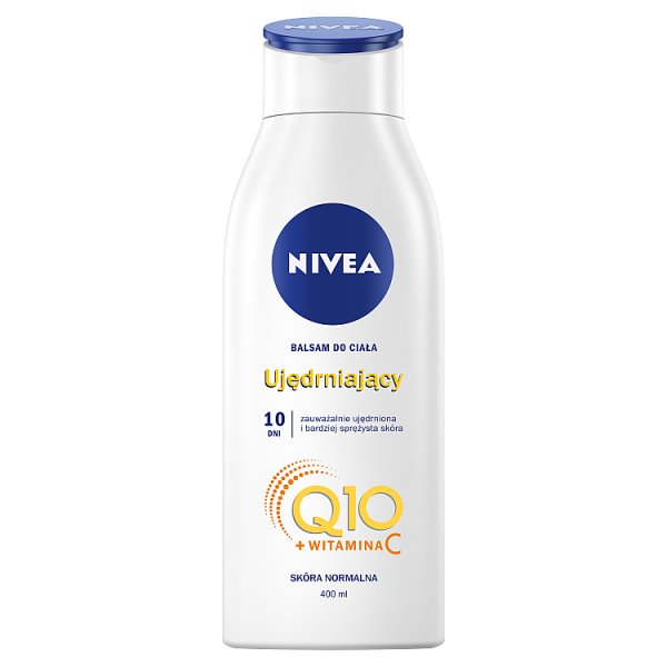 Nivea body balsam do ciała ujędrniający q10 plus sk.normalna