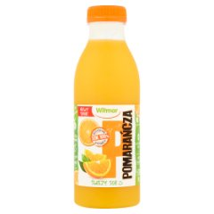 Sok świeży pomarańczowy
