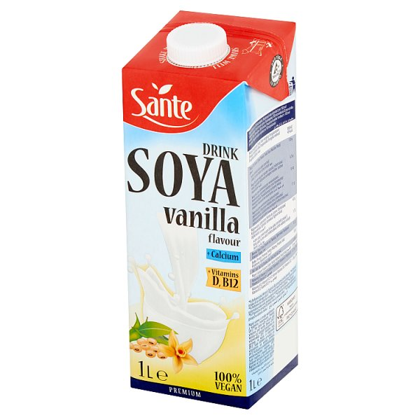 Sante Napój sojowy o smaku waniliowym 1 l