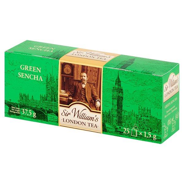 Sir William's Green Sencha Herbata 37,5 g (25 x 1,5 g)