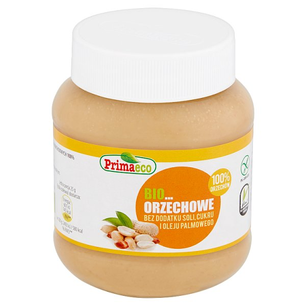 Primaeco Bio pasta orzechowa 100% orzechów 350 g
