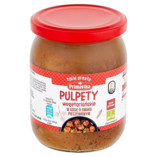 Primavika Pulpety wegetariańskie w sosie o smaku pieczeniowym 420 g