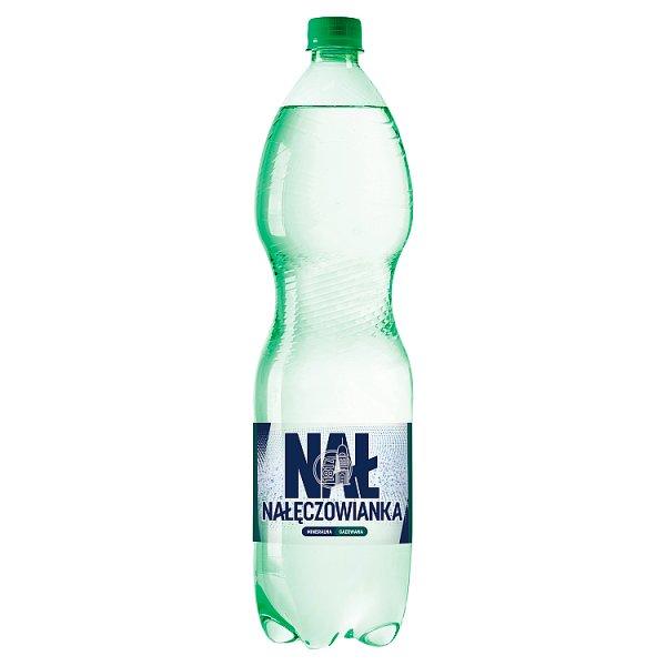 Nałęczowianka Naturalna woda mineralna gazowana 1,5 l