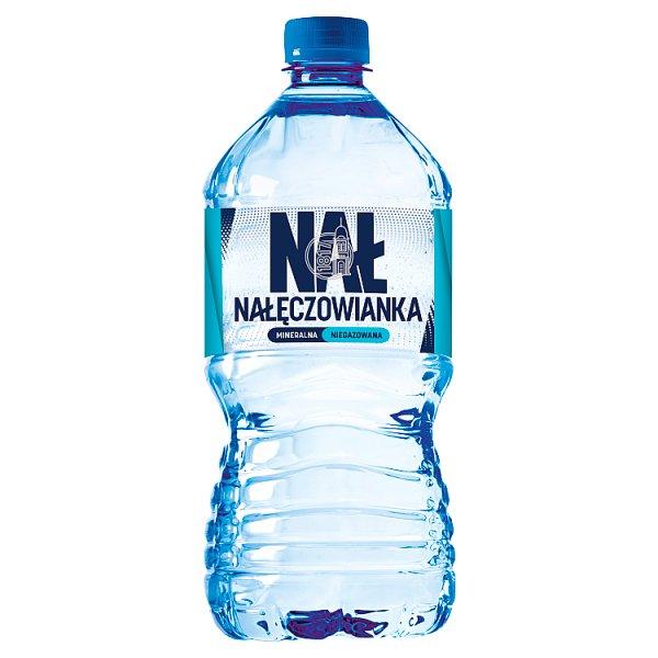Nałęczowianka Naturalna woda mineralna niegazowana 1 l