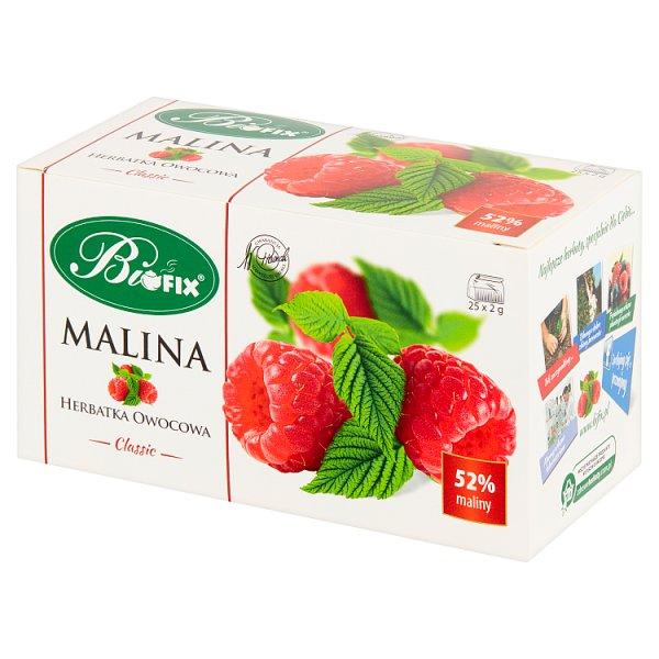 Bifix Classic Herbatka owocowa malina 50 g (25 x 2 g)