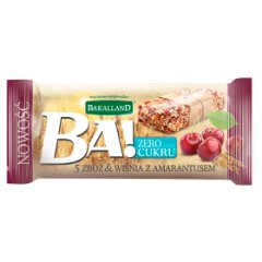 Bakalland Ba! Baton 5 zbóż wiśnie & amarantus