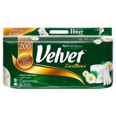 Papier toaletowy Velvet rumianek aloes excellence/8rolek