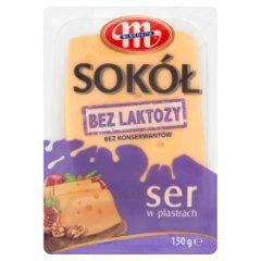 Mlekovita Sokół Ser bez laktozy w plastrach 150 g