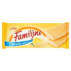 Wafle Familijne cytrynowe