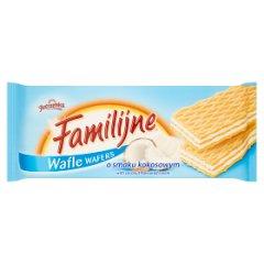 Wafle Familijne kokosowe