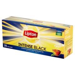 Herbata Lipton intense black
