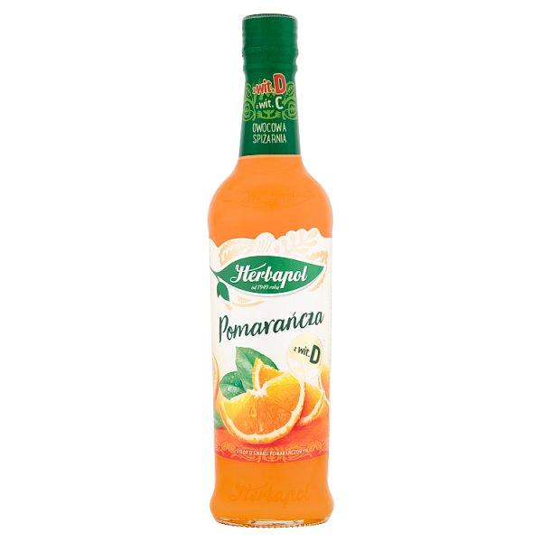 Syrop Herbapol Owocowa Spiżarnia pomarańcza