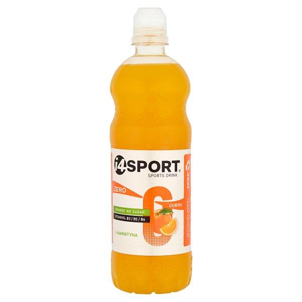Napój niegazowany i4sport orange zero