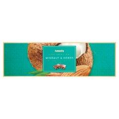 Terravita Czekolada mleczna migdały i kokos 250 g