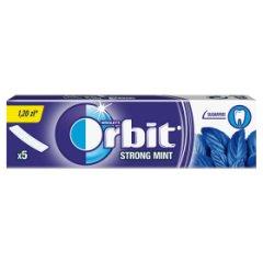Guma Orbit strong mint 13g 5 listków