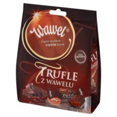 Wawel Trufle z Wawelu Cukierki o smaku rumowym w czekoladzie 280 g