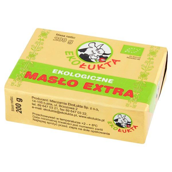 Masło extra kostka Eko EkoŁukta