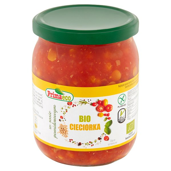Primaeco Bio cieciorka w sosie pomidorowym 440 g