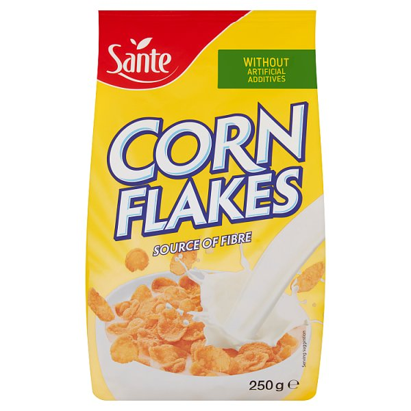 Sante Corn Flakes Płatki kukurydziane 250 g