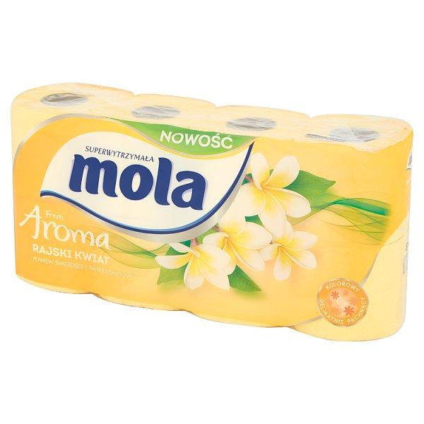 Papier toaletowy Mola classic żółty /8rolek