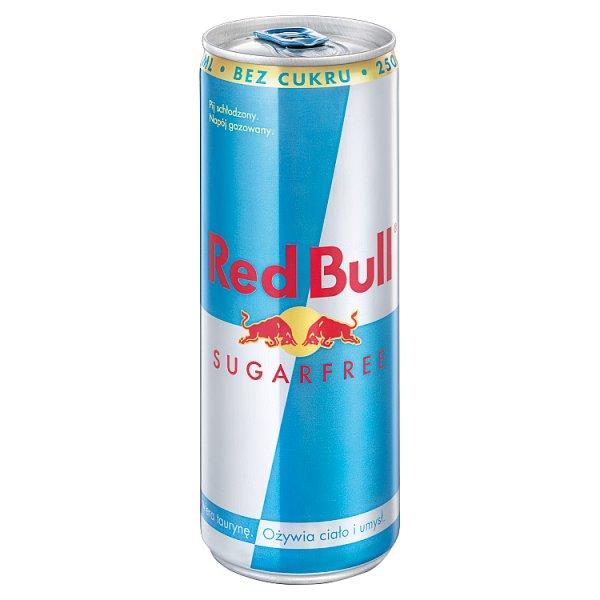 Red Bull Napój energetyczny bez cukru