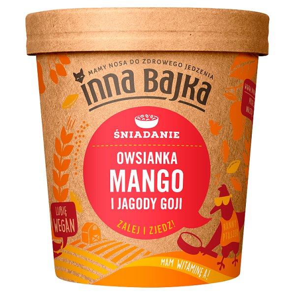Inna Bajka Śniadanie Owsianka mango i jagody goji 70 g