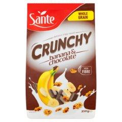 Crunchy Sante bananowe z czekoladą
