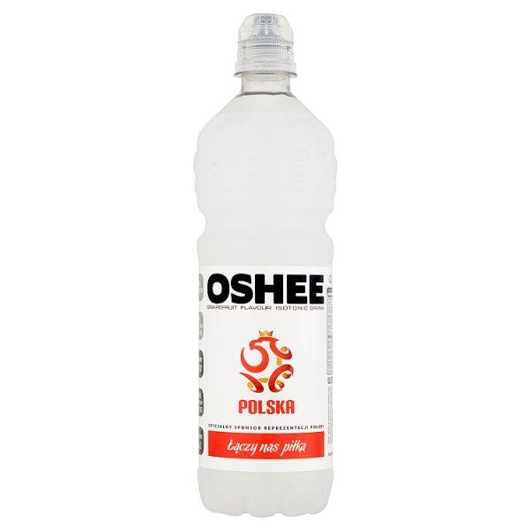 Oshee Napój izotoniczny niegazowany o smaku grejpfrutowym 0,75 l
