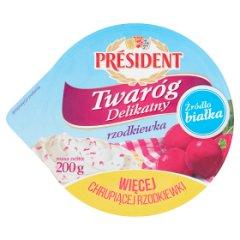 Twaróg Delikatny rzodkiewka Président